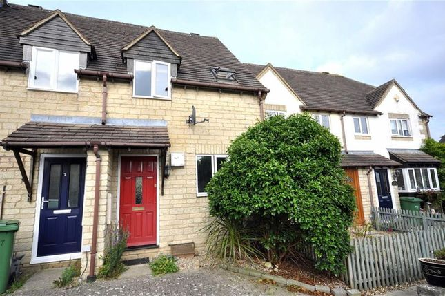 Thumbnail Terraced house for sale in Foxes Close, Chalford, Stroud