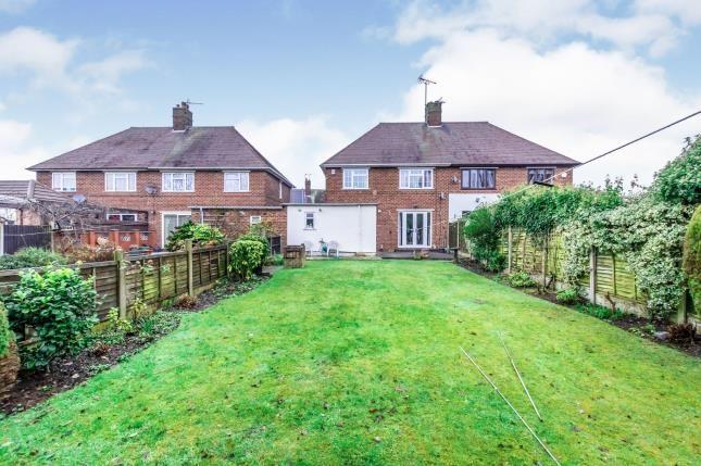 Rear Views of Morris Avenue, Walsall, West Midlands WS2