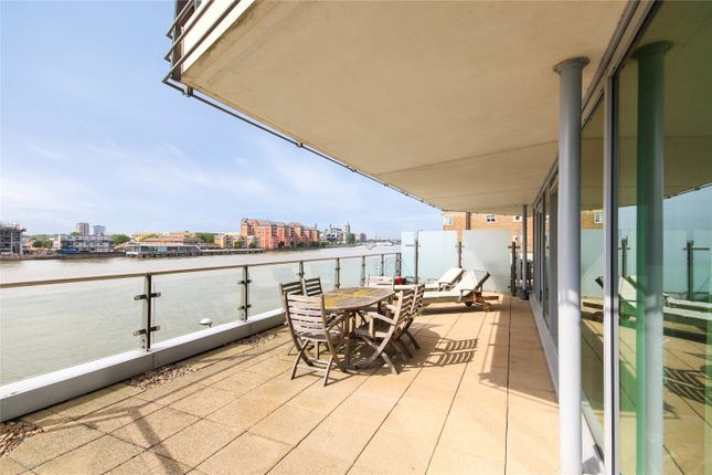 Thumbnail Flat to rent in Ensign House, Juniper Drive, London