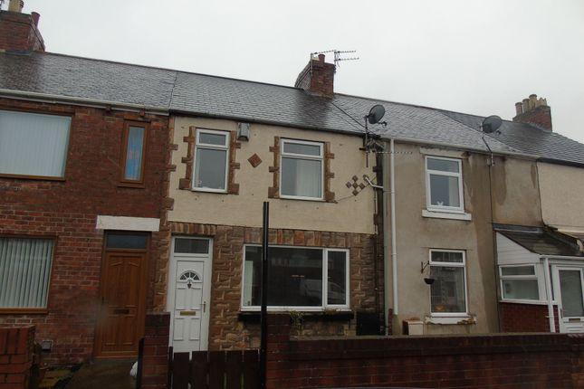 Thumbnail Terraced house to rent in Hawthorn Road, Ashington