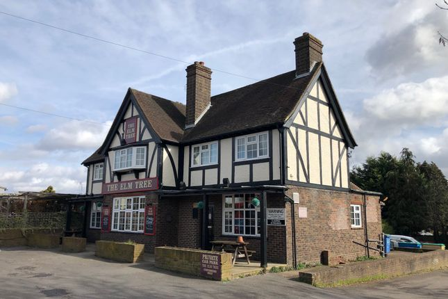 Thumbnail Leisure/hospitality for sale in The Elm Tree, 14 Weybourne Road, Farnham