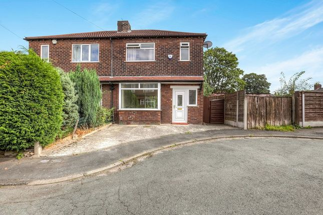 Thumbnail Semi-detached house to rent in Frome Avenue, Great Moor, Stockport