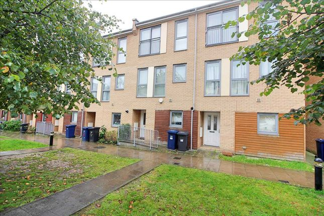 Thumbnail 4 bed terraced house to rent in Fortune Avenue, Edgware