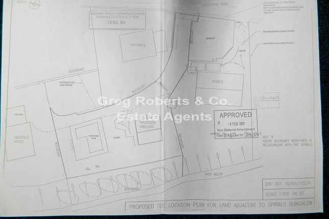 Thumbnail Land for sale in Plot Next To The Spirals, Dukestown Road, Tredegar