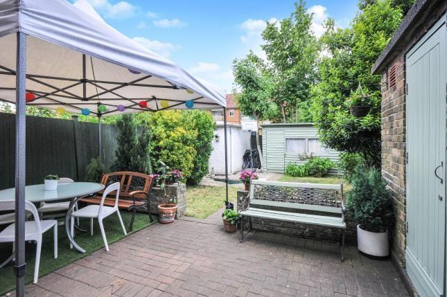 Garden of Kent House Road, Sydenham, London, . SE26