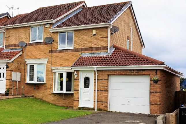 2 bed semi-detached house for sale in Daleside, Sacriston