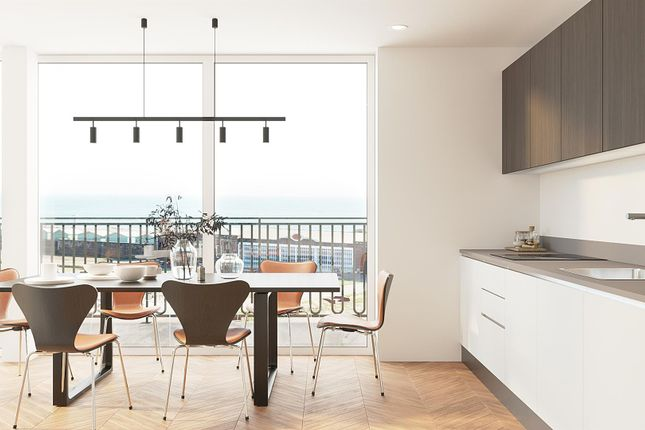 Thumbnail Flat for sale in Aurum Development, Kingsway, Hove Seafront
