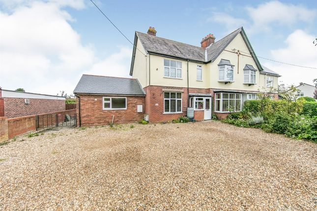 Thumbnail Semi-detached house for sale in Tye Green, Glemsford, Sudbury