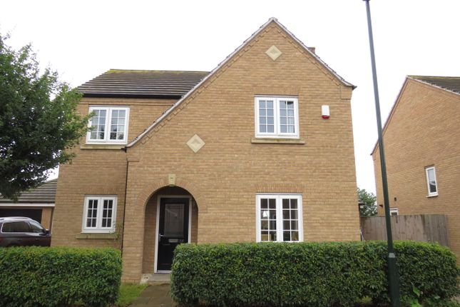 Thumbnail Detached house for sale in Charlotte Way, Peterborough