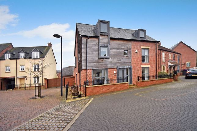 Thumbnail Detached house for sale in 6 St Johns Walk, Lawley Village, Telford