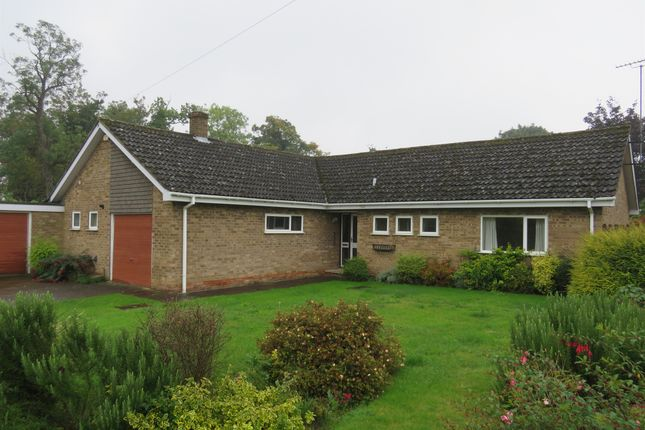 Thumbnail Detached bungalow for sale in Park Road, Ketton, Stamford