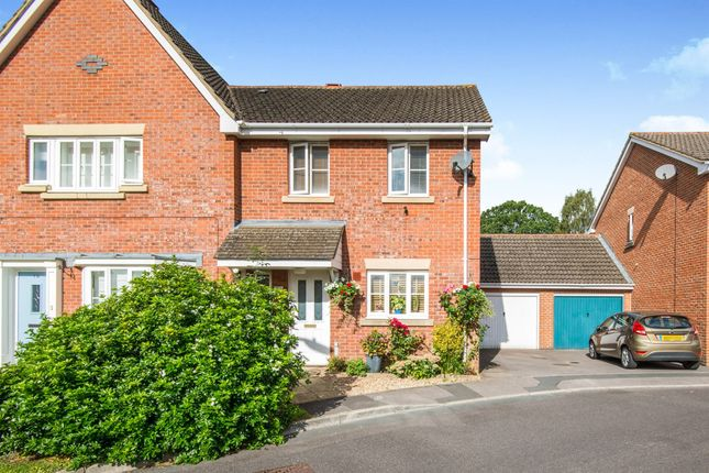 Thumbnail Semi-detached house for sale in Jack Close, Chandlers Ford, Eastleigh