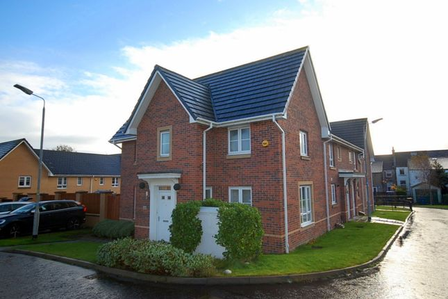 Thumbnail End terrace house for sale in Clarence Crescent, Clydebank, West Dunbartonshire