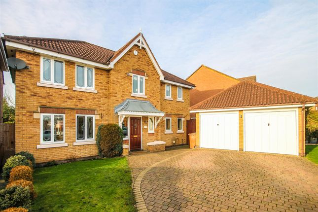 Thumbnail Detached house for sale in Crowberry Close, Clayhanger, Walsall