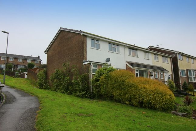 Thumbnail End terrace house to rent in Frobisher Drive, Saltash