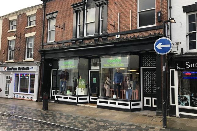 Thumbnail Retail premises to let in 9, High Street, Uttoxeter