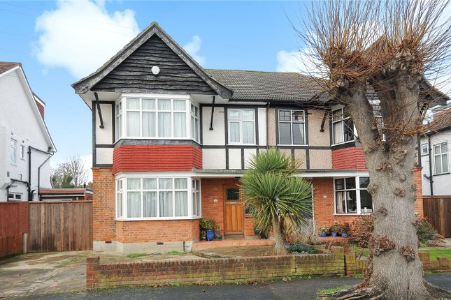 Thumbnail Semi-detached house for sale in Lowlands Road, Pinner, Middlesex