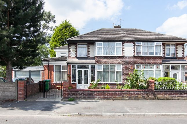 Thumbnail Semi-detached house for sale in Morville Road, Chorlton Cum Hardy, Manchester