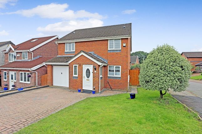 Thumbnail Detached house for sale in Cae Cadno, Church Village, Pontypridd