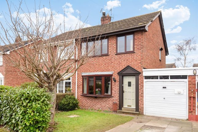 Thumbnail Semi-detached house for sale in Chestnut Crescent, Holme-On-Spalding-Moor, York