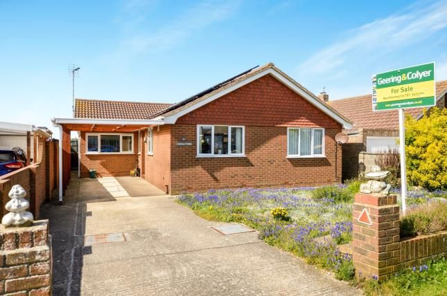 Thumbnail Bungalow for sale in Roberts Road, Greatstone, New Romney