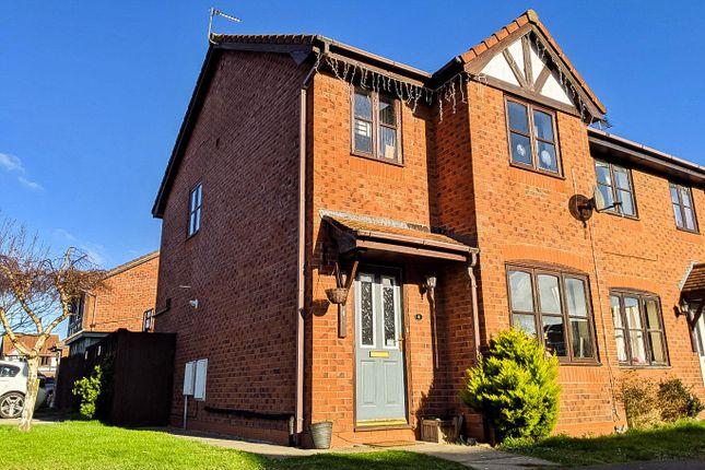 Thumbnail Semi-detached house for sale in Alder Court, Rhyl