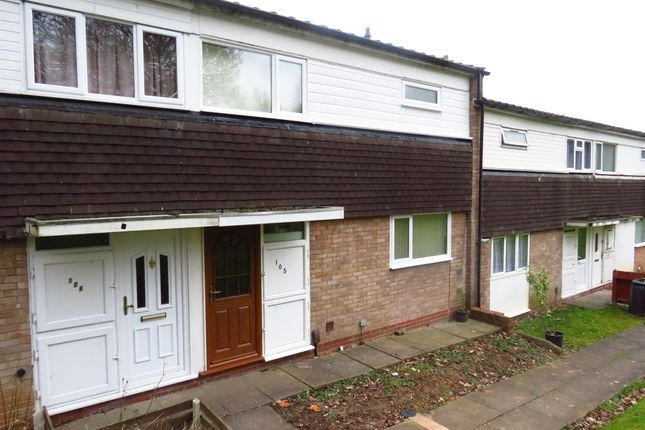 3 bed terraced house for sale in Cropthorne Close, Woodrow, Redditch