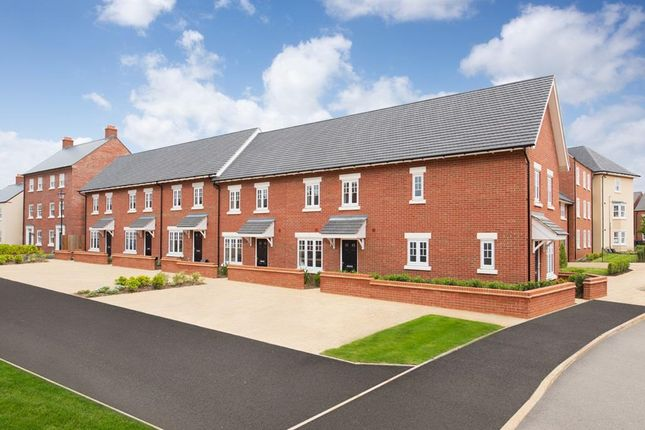"Thumbnail Terraced house for sale in ""Amber"" at Southern Cross, Wixams, Bedford"