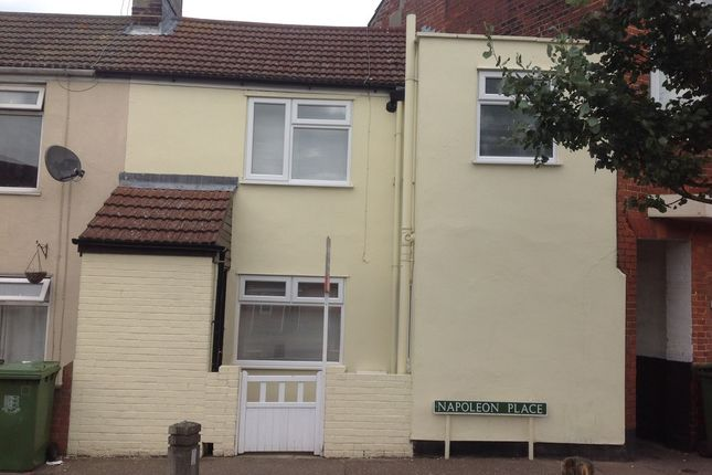 Thumbnail Terraced house to rent in Napoleon Place, Great Yarmouth