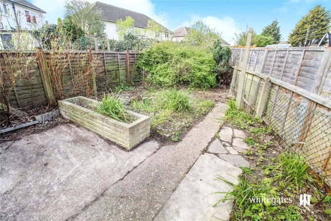 Garden of Simmins Crescent, Eyres Monsell, Leicester LE2
