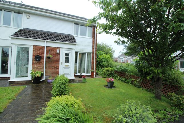 Thumbnail Terraced house for sale in Talbot Close, Washington