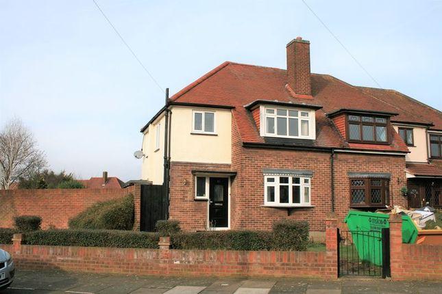 Thumbnail Semi-detached house to rent in Fontayne Avenue, Romford