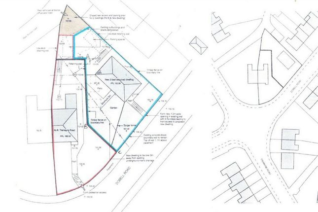 Thumbnail Land for sale in Tremayne Road, St Austell, Cornwall