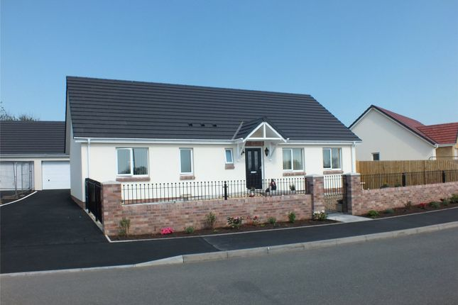 3 bed detached bungalow for sale in Plot No 72, Mariners Way, Steynton, Milford Haven