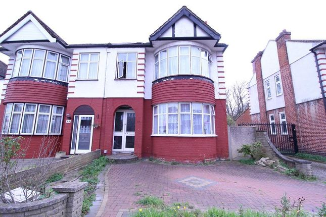 Thumbnail End terrace house for sale in Hyde Park Avenue, Winchmore Hill