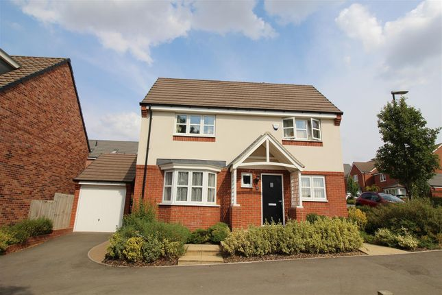 Thumbnail Detached house for sale in Hawthorn Close, Eden Park, Rugby