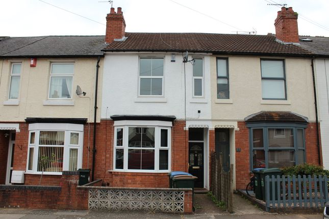 Thumbnail Terraced house for sale in Stanley Road, Earlsdon, Coventry