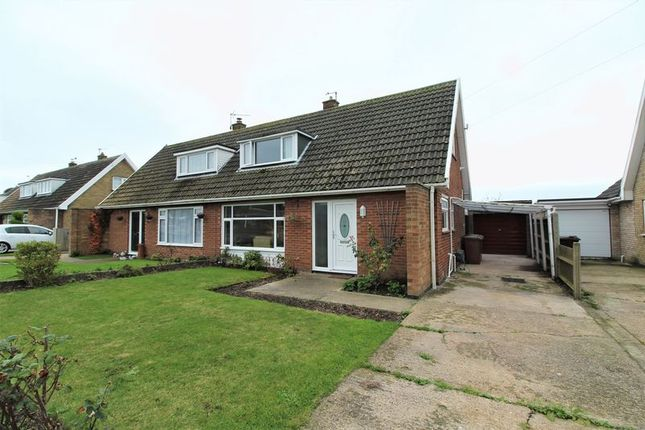 Thumbnail Semi-detached house for sale in Westerley Way, Caister-On-Sea, Great Yarmouth