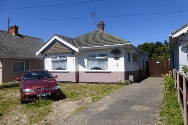 3 bed detached bungalow for sale in Normanston Drive, Lowestoft