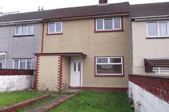 Thumbnail Terraced house to rent in Queensway, Garnlydan, Ebbw Vale, Blaenau Gwent