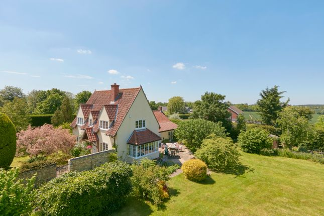 Thumbnail Detached house for sale in The Common, West Wratting, Cambridge