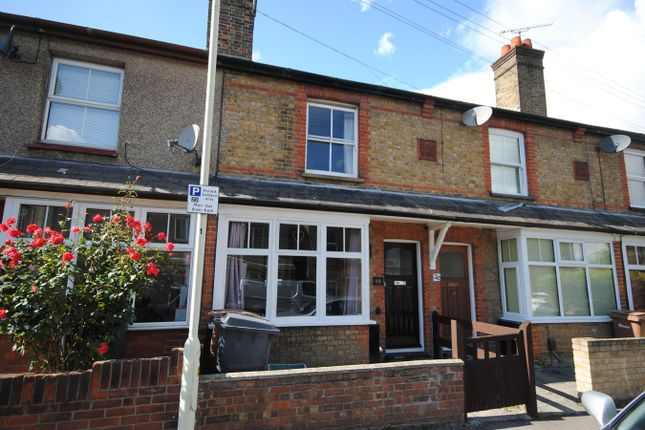 Thumbnail Terraced house to rent in Victoria Crescent, Chelmsford