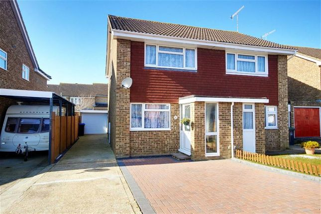 Thumbnail Semi-detached house for sale in Halifax Drive, Worthing, West Sussex