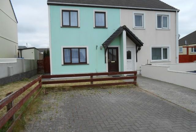 Thumbnail Semi-detached house to rent in Finch Close, Pembroke Dock