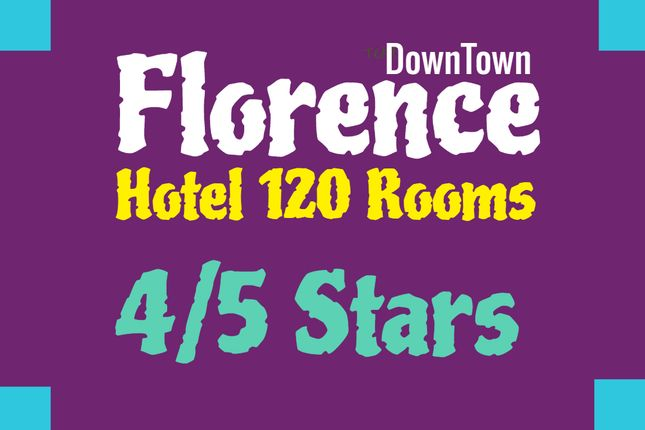 Thumbnail Hotel/guest house for sale in Downtown, Florence City, Florence, Tuscany, Italy
