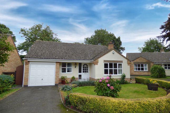 Thumbnail Detached bungalow for sale in The Pastures, Cottesmore, Oakham