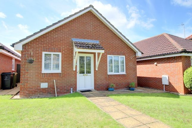 Thumbnail Detached bungalow for sale in The Oaks, Mattishall, Dereham