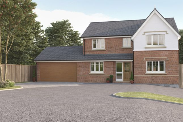 Thumbnail Detached house for sale in Yew Tree Court, Austrey, Atherstone