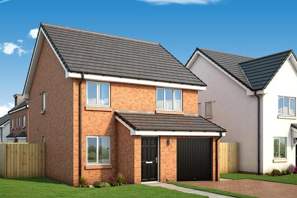 "Thumbnail Property for sale in ""The Huntly At Abbotsway"" at Inchinnan Road, Paisley"