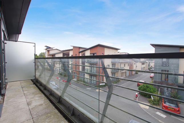 Balcony of Hayman Crescent, Marlborough Park, Swindon SN3